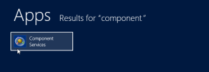 1. find component services