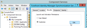 5. open Security tab - launc and activation
