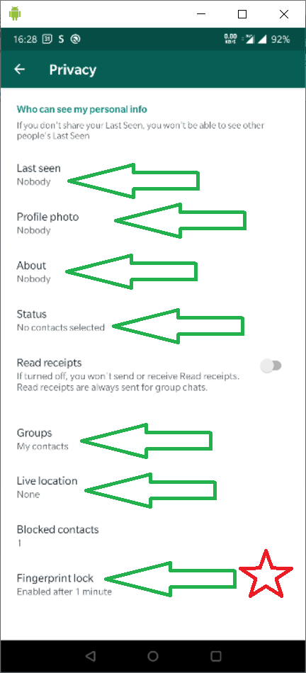 This image has an empty alt attribute; its file name is whatsapp_settings_privacy.png