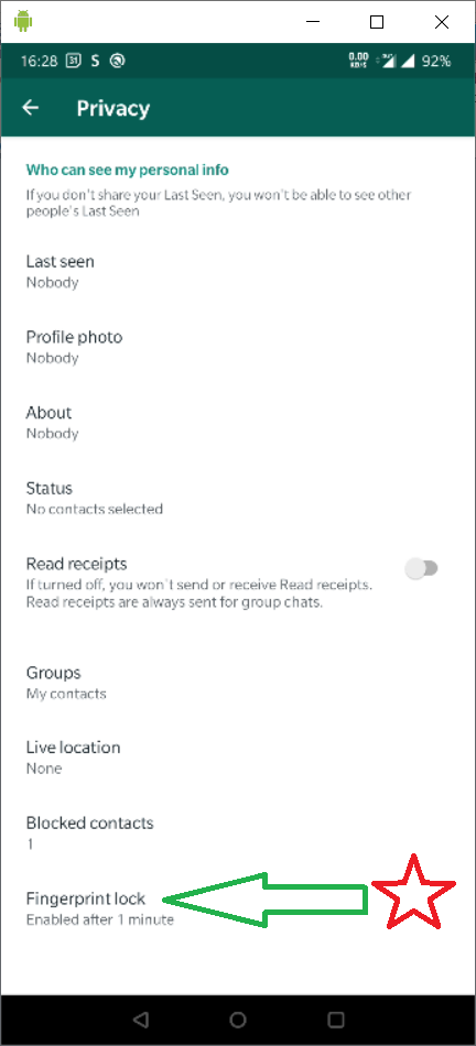 This image has an empty alt attribute; its file name is whatsapp_settings_privacy_fp.png